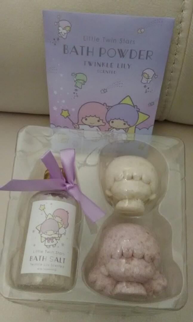 Little Twin Stars bath powder cny new year