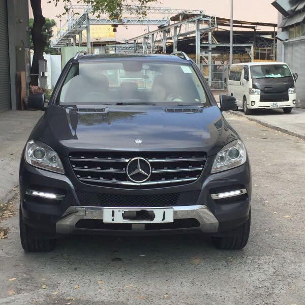 MERCEDES-BENZ ML350 2013-2012