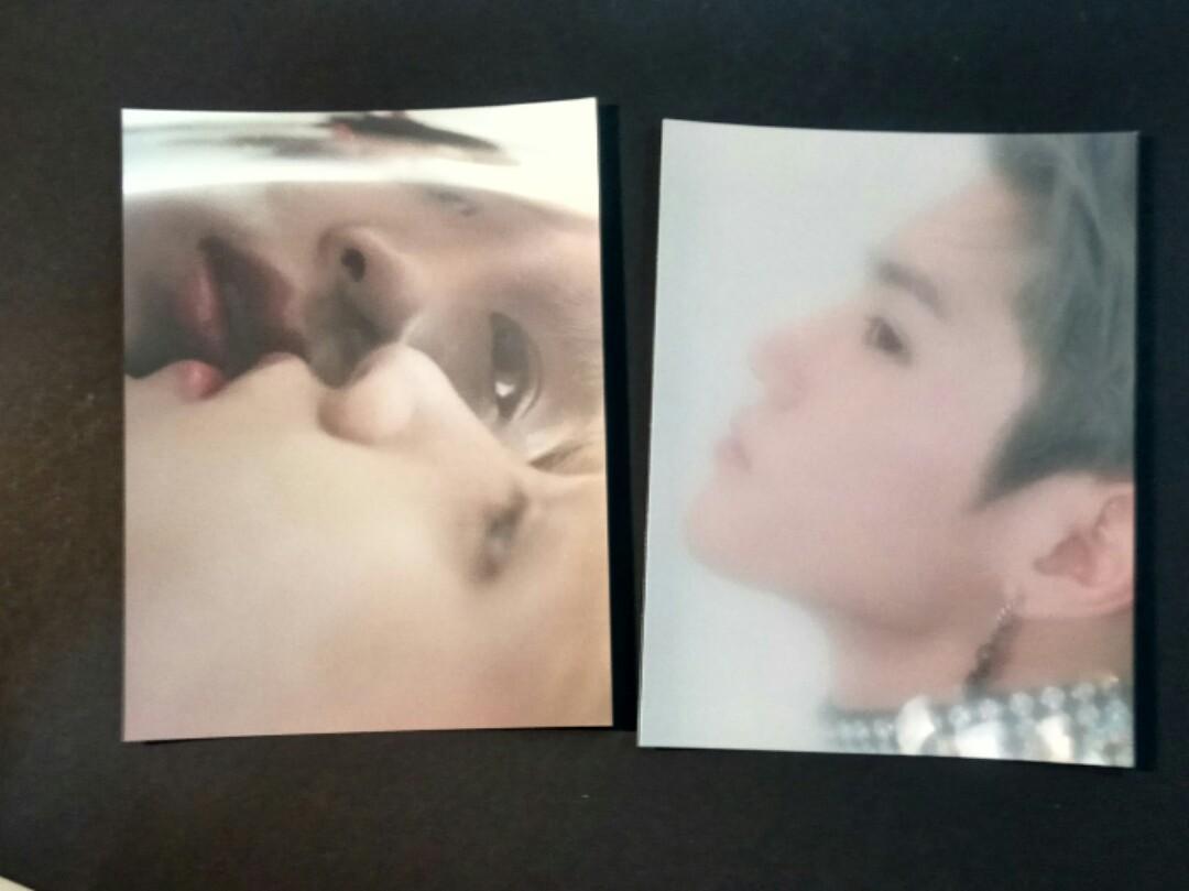 NCT 127 regular irregular postcard Taeyong haechan
