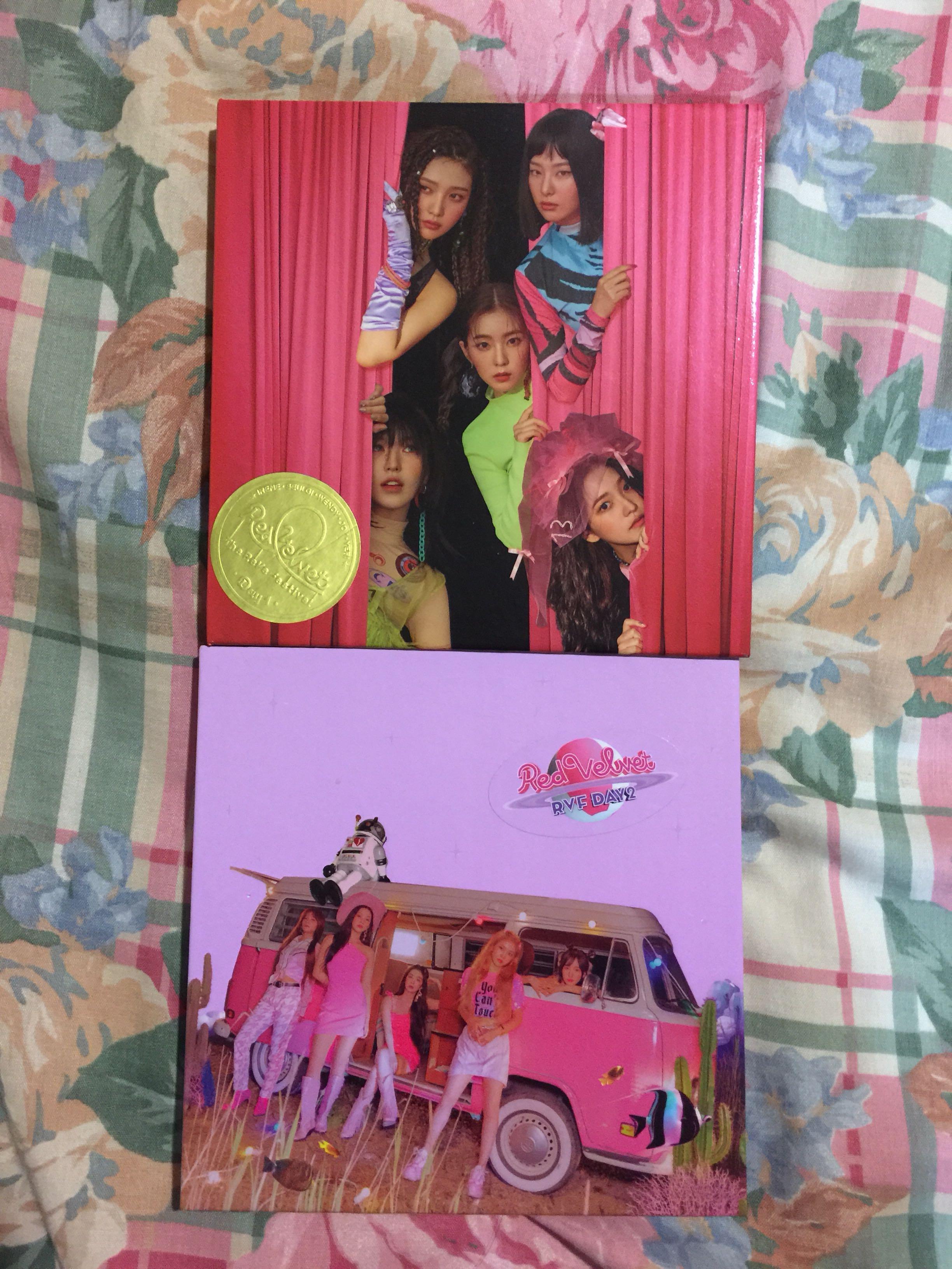 Red Velvet The Reve Festival day 1 day 2 guidebook
