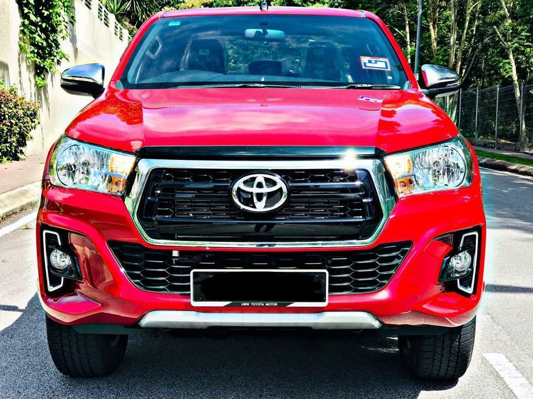 SAMBUNG BAYAR TOYOTA HILUX 2.4 LIMITED EDITION 2019