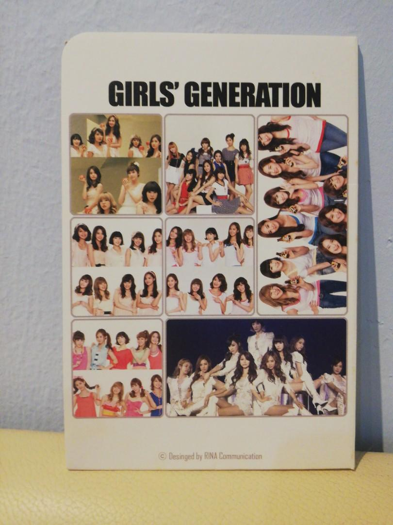 SNSD (Girl's Generation) Photobooks + Postcard Set Free Gift included