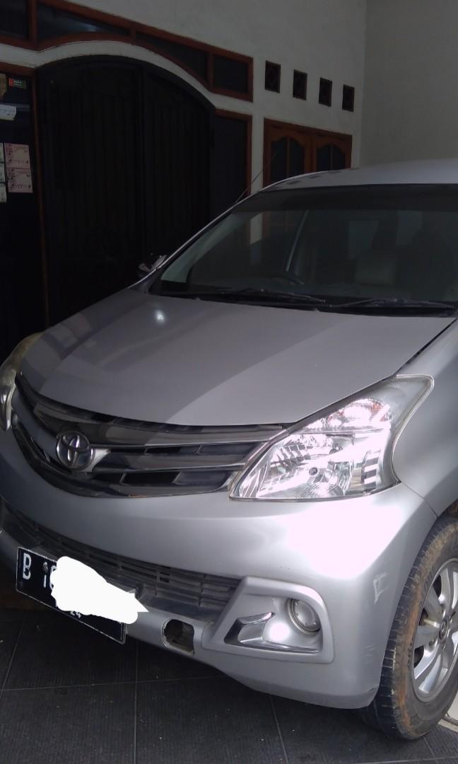 Toyota Avanza G manual 2014 Silver harga 115jt nego serius hub Hendro/08811320345