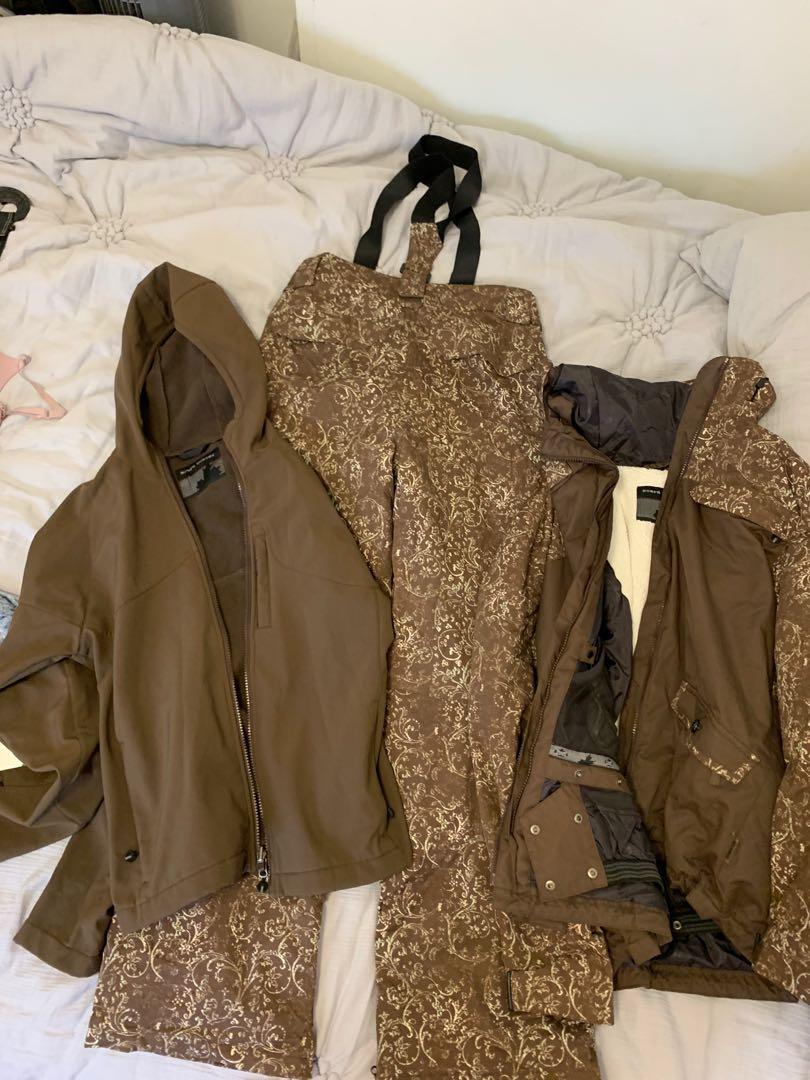 Winter jacket , shell and snow pants - 3 piece snow set