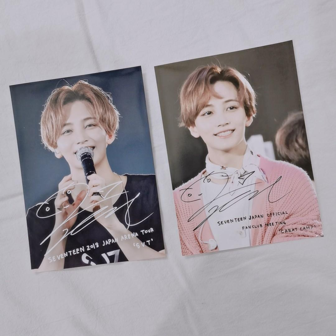 【WTS】SEVENTEEN  JAPAN FANS MEETING CARAT CAMP JEONGHAN PHOTO