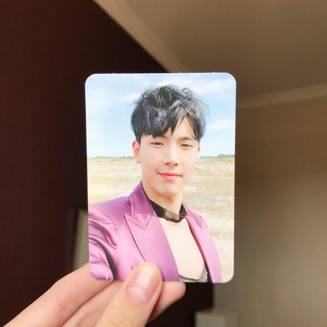 [WTT/WTS] MONSTA X Follow: Find You Shownu Photocard