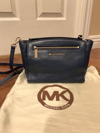 Michael Kors Navy Blue Crossbody Bag