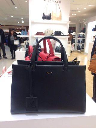 agnès b. Handbag Black
