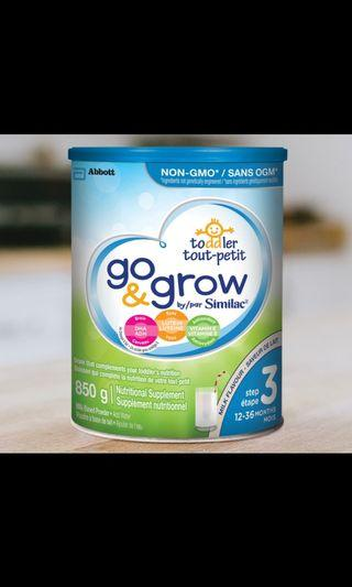 Similac go & grow stage 3 milk flavour