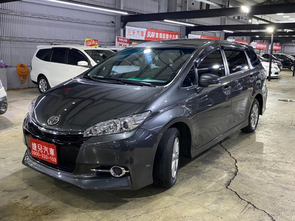 2010年 最新款二代Toyota Wish 2.0E  真心不騙只賣23.8萬