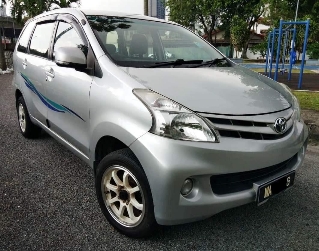 2014 Toyota Avanza 1.5E (Auto) Full Loan Xperlu Lesen Deposit 500 Saja