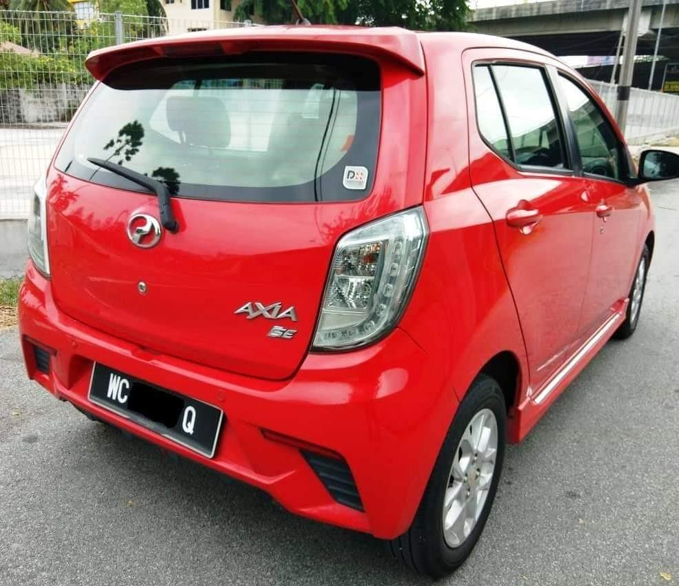 2016 Perodua Axia 1.0 SE (Auto)  Full Loan Xperlu Lesen Bulanan 4xx Saja