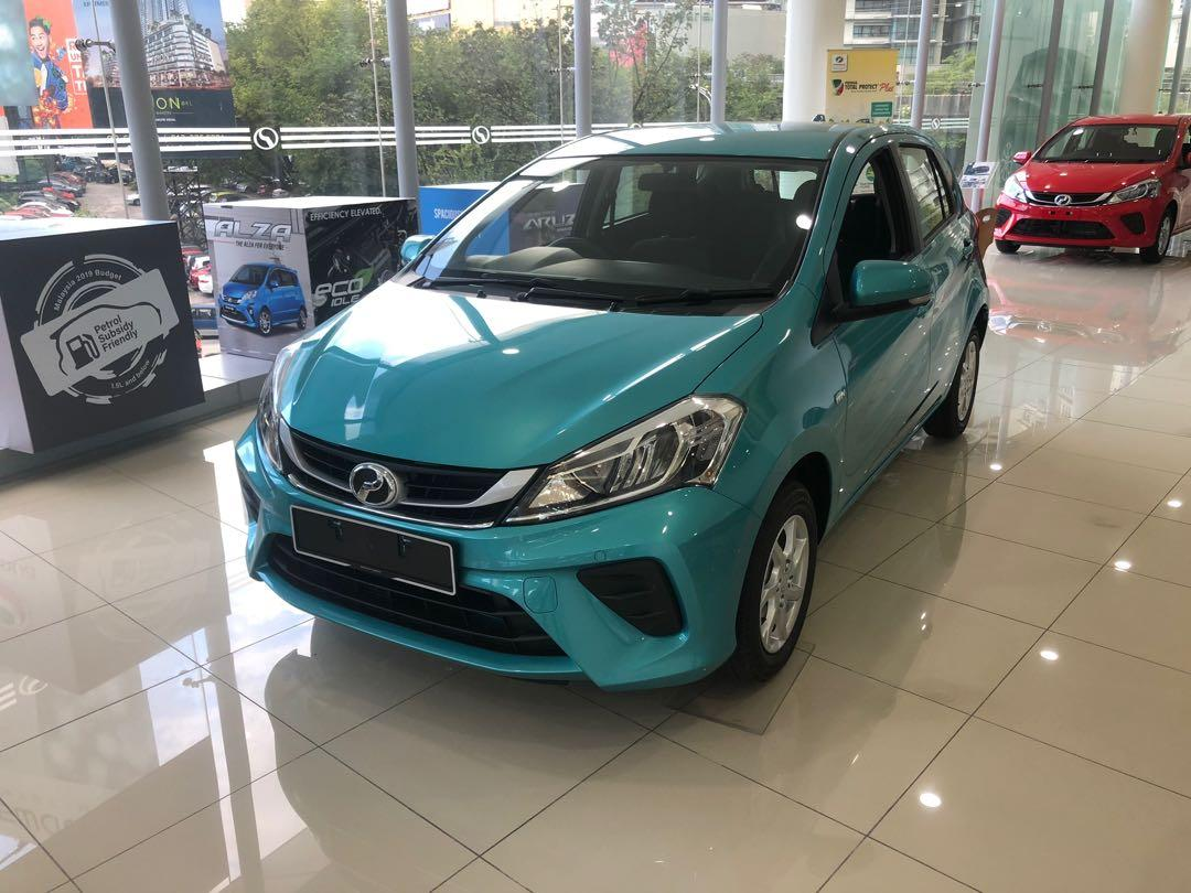 2019 Perodua Myvi  1.3 G (A) Peppermint Green Maximum Loan