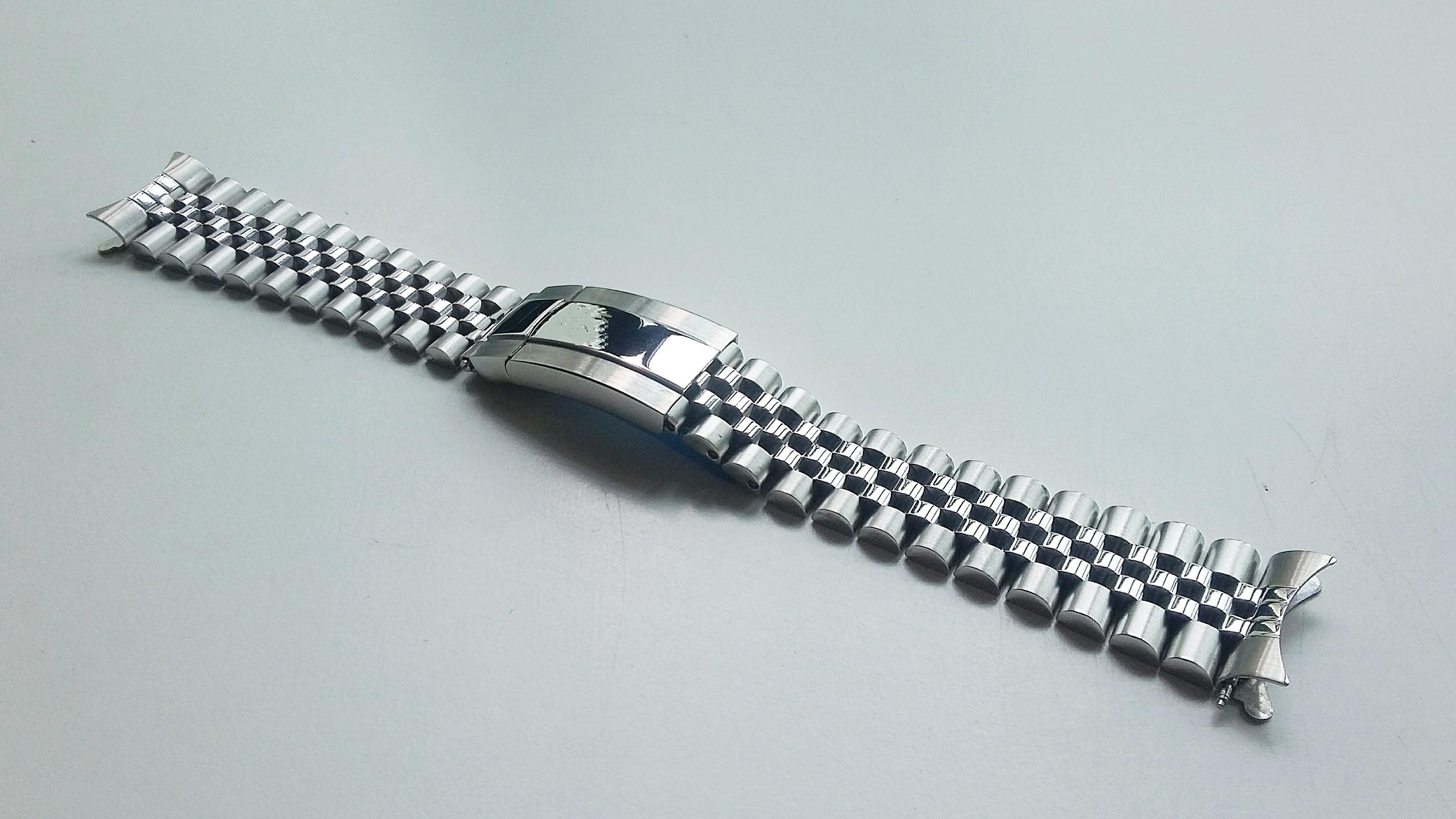 """20mm 316L STAINLESS STEEL """"AFTERMARKET"""" JUBILEE BRACELET WITH HIDDEN CLASP FOR ROLEX DAYTONA (PRICE INCLUSIVE OF FITMENT)"""