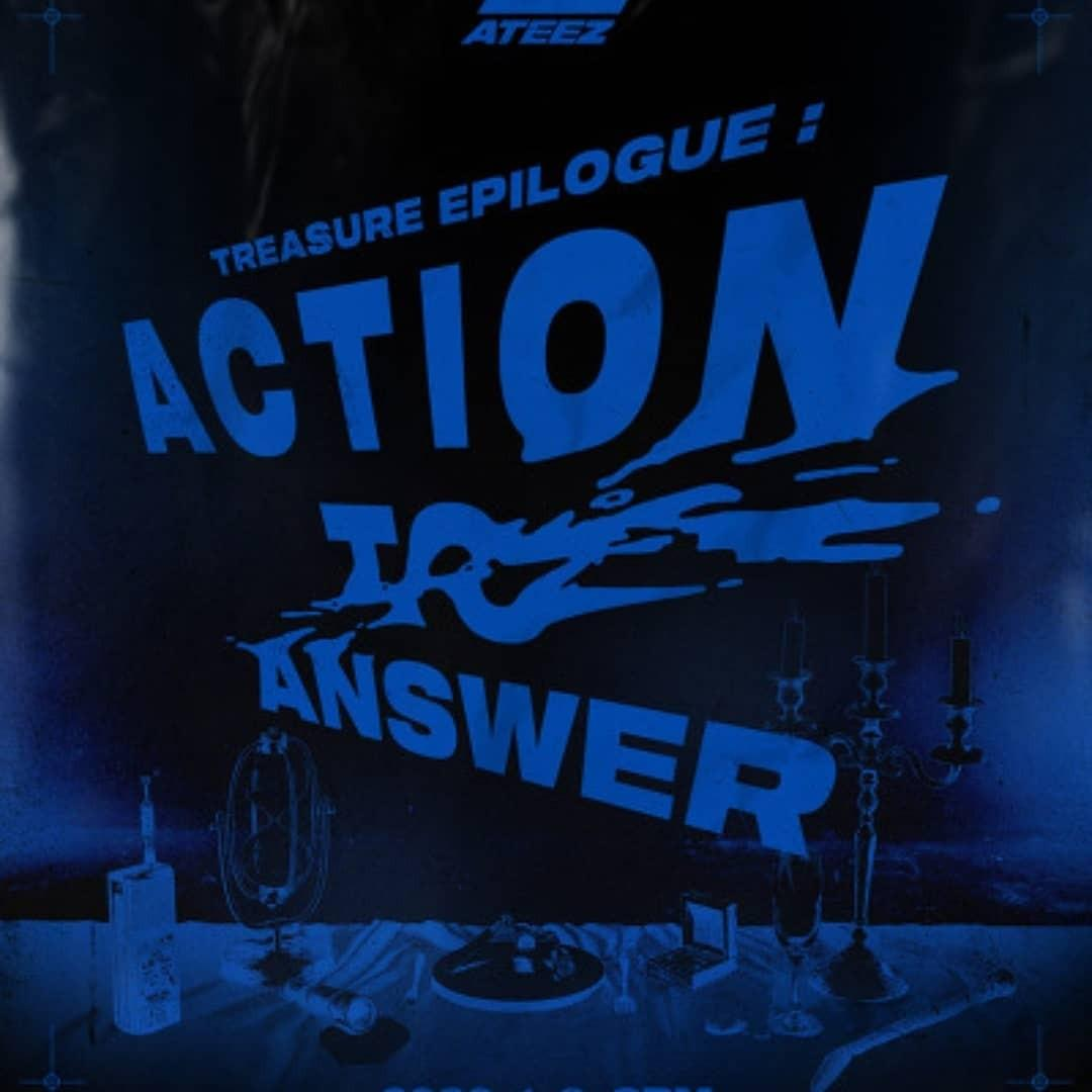ATEEZ Epilogue: Action to Answer Album & Photocard