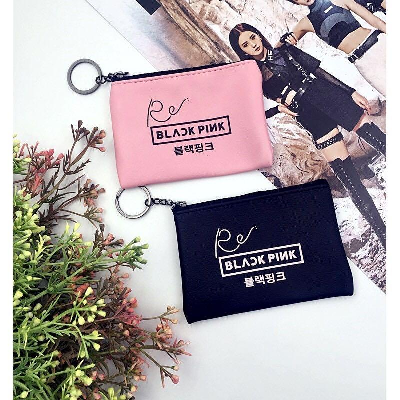 Blackpink PU Leather Cosmetic Pencil Coin Pouch / Bag / Case / Purse