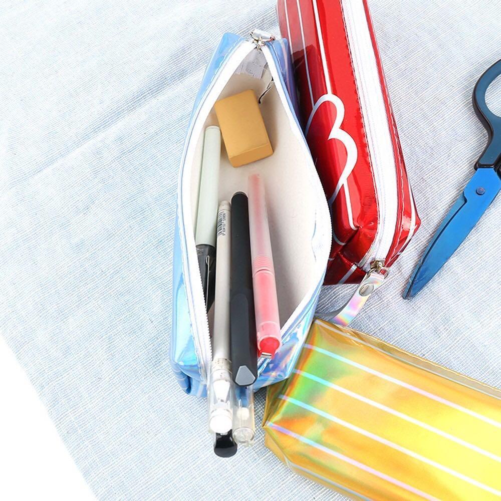 BT21 BTS Cute Laser Line Design Pencil Case / Pencil Box