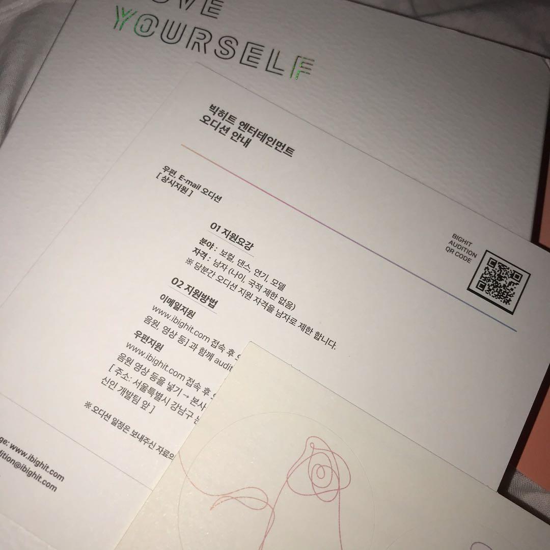 BTS Love Yourself Her Album L Ver #carousellbelanja