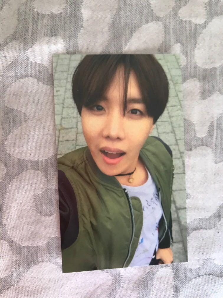 Bts photo card the most beautiful moment in life.(j-hope)