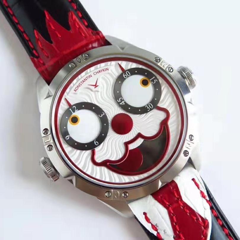 💥BUY WATCH, FREE SNEAKERS💥TW Factory V3 台湾厂俄罗斯小丑 Konstantin Chaykin Joker 2824-2 原版同步