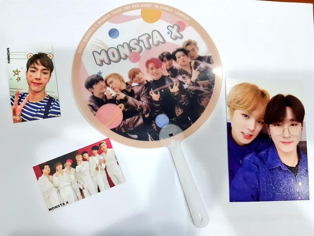 [CLEAR STOCK] MONSTAXinKL FANKIT-Group /Hyungwon/I.M