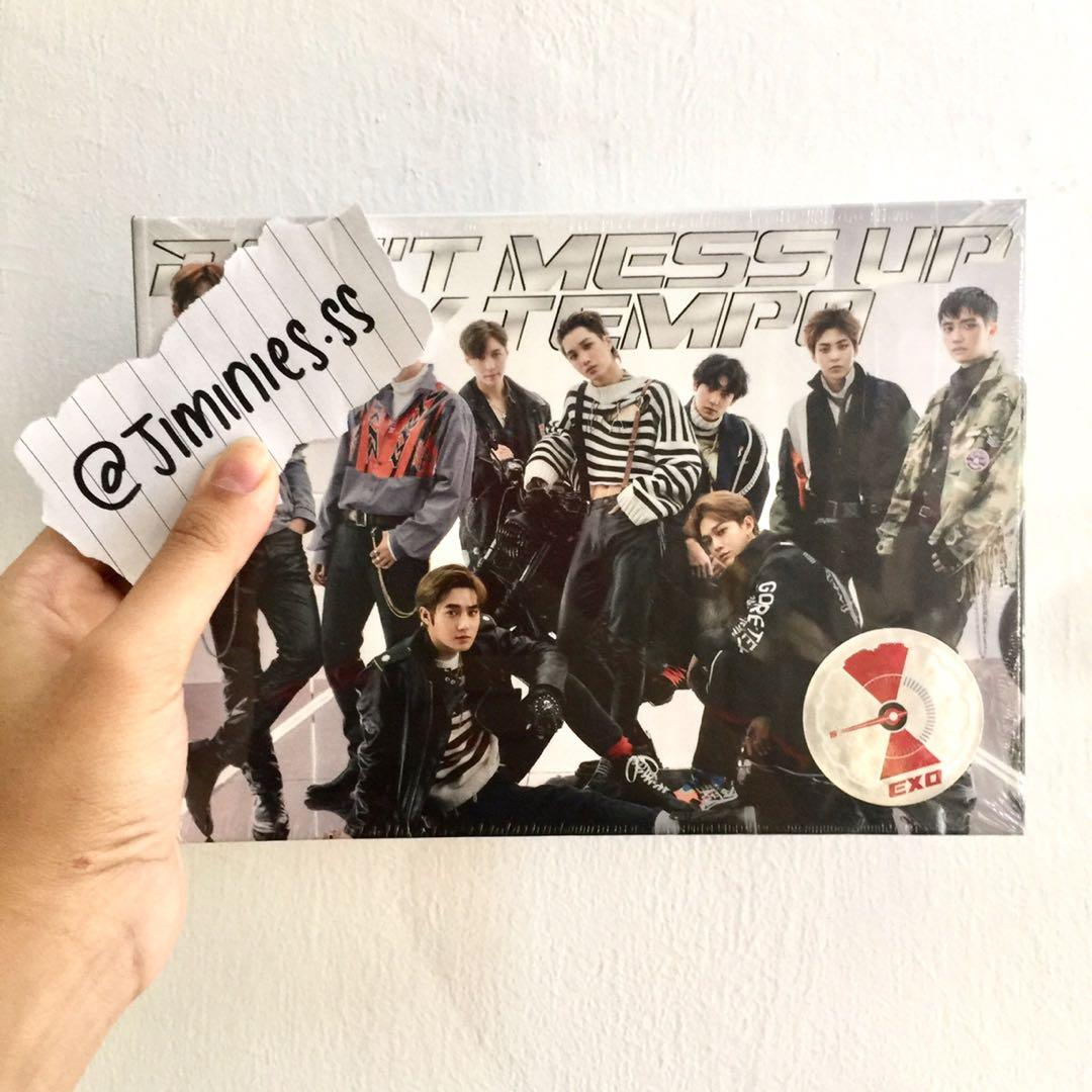 EXO THE 5TH ALBUM DON'T MESS UP MY TEMPO VIVACE VER.