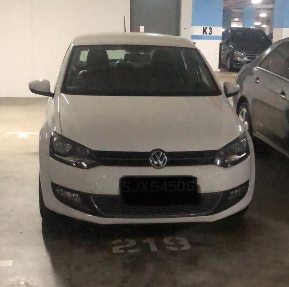 For Rent: VW Polo