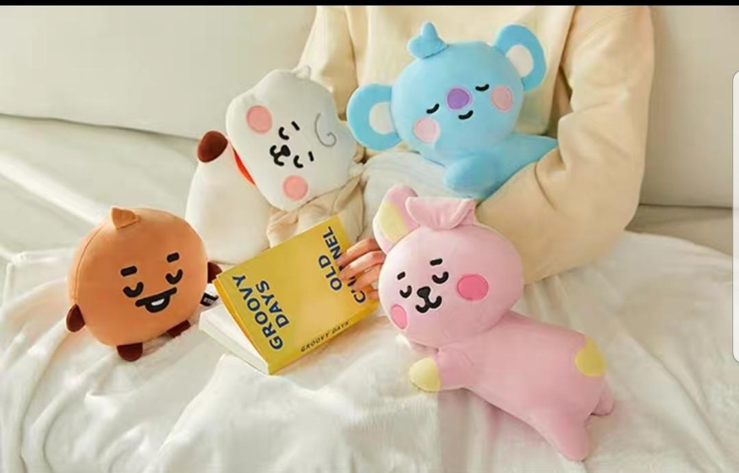 FREE POSTAGE BT21 baby lying pillow cushion Official bts