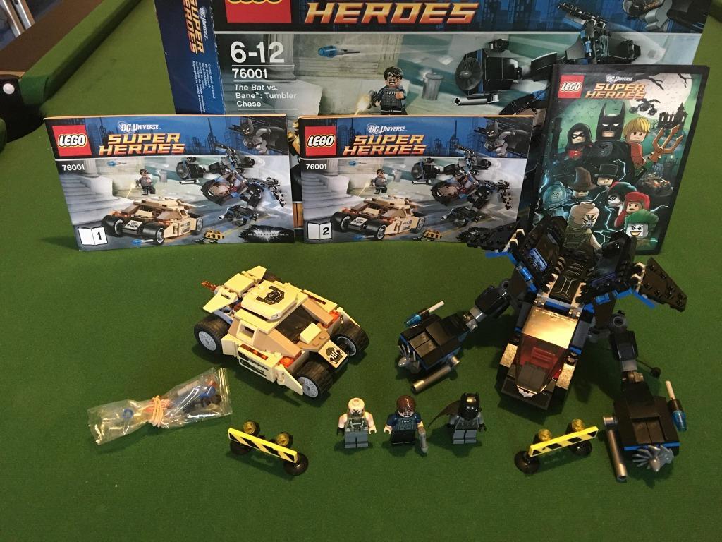 LEGO 76001 DC Comics Super Heroes The Bat vs. Bane Tumbler Chase
