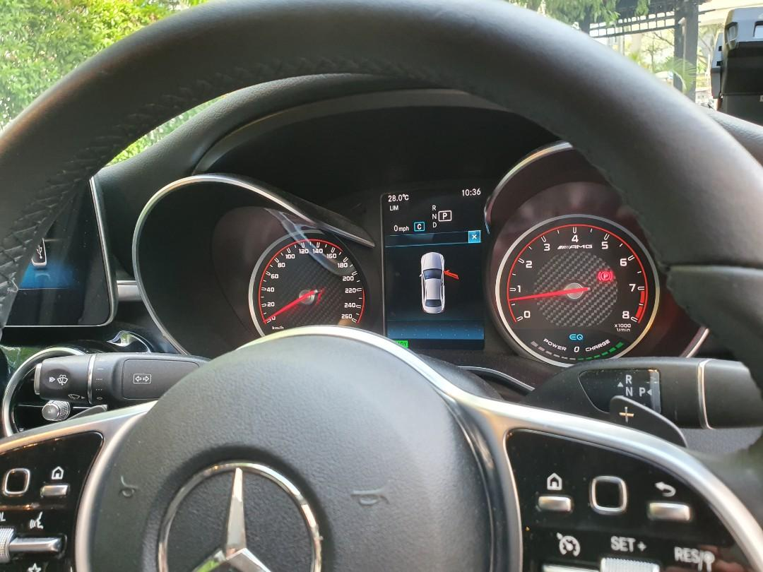 Mercedes-Benz C200 9G-Tronic AMG Line (A)