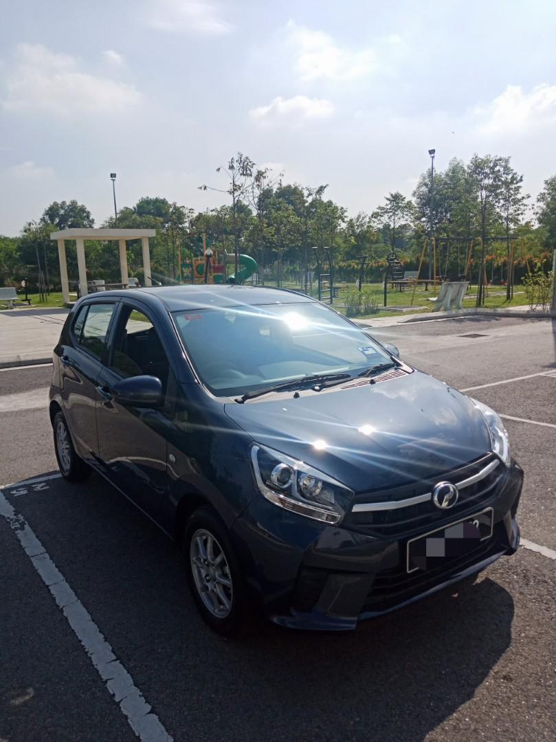 New Perodua Axia G 1.0(A) Kereta Viva Sewa Myvi Murah Selangor KL