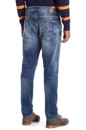 NWT Hudson Jeans Distressed Sartor  Relaxed Skinny Mens Jeans 36x32