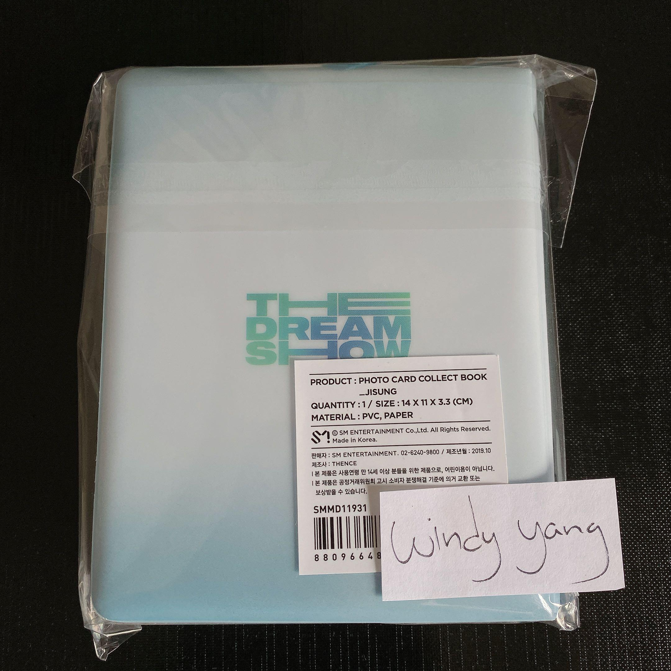 [Ready Stock] NCT Dream The Dream Show Official Photocard Collect Book SEALED