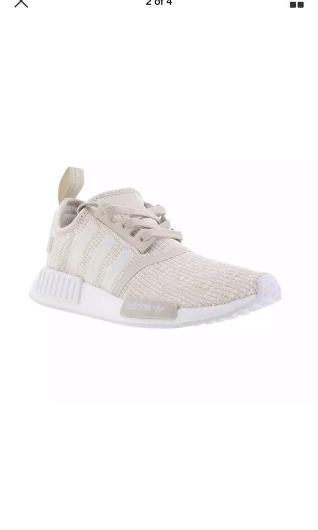Rrp $245 adidas NMD R1 roller knit cream 39 1/3 eur, 7.5US, 6 UK BARELY USED