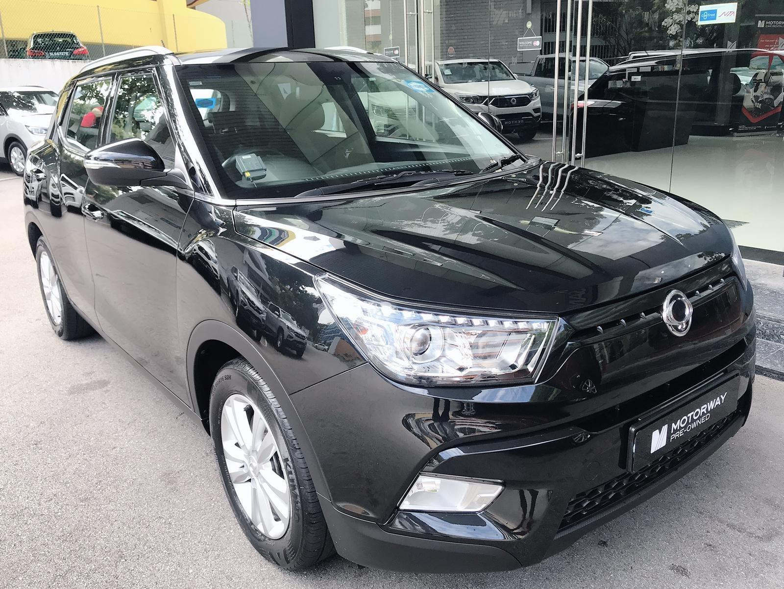 SSANGYONG TIVOLI 1.6G 6AT ABS 2WD E4