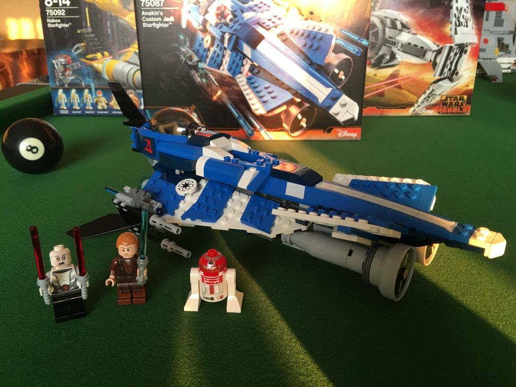 star wars lego 75087 Anakin's Custom Jedi Starfighter