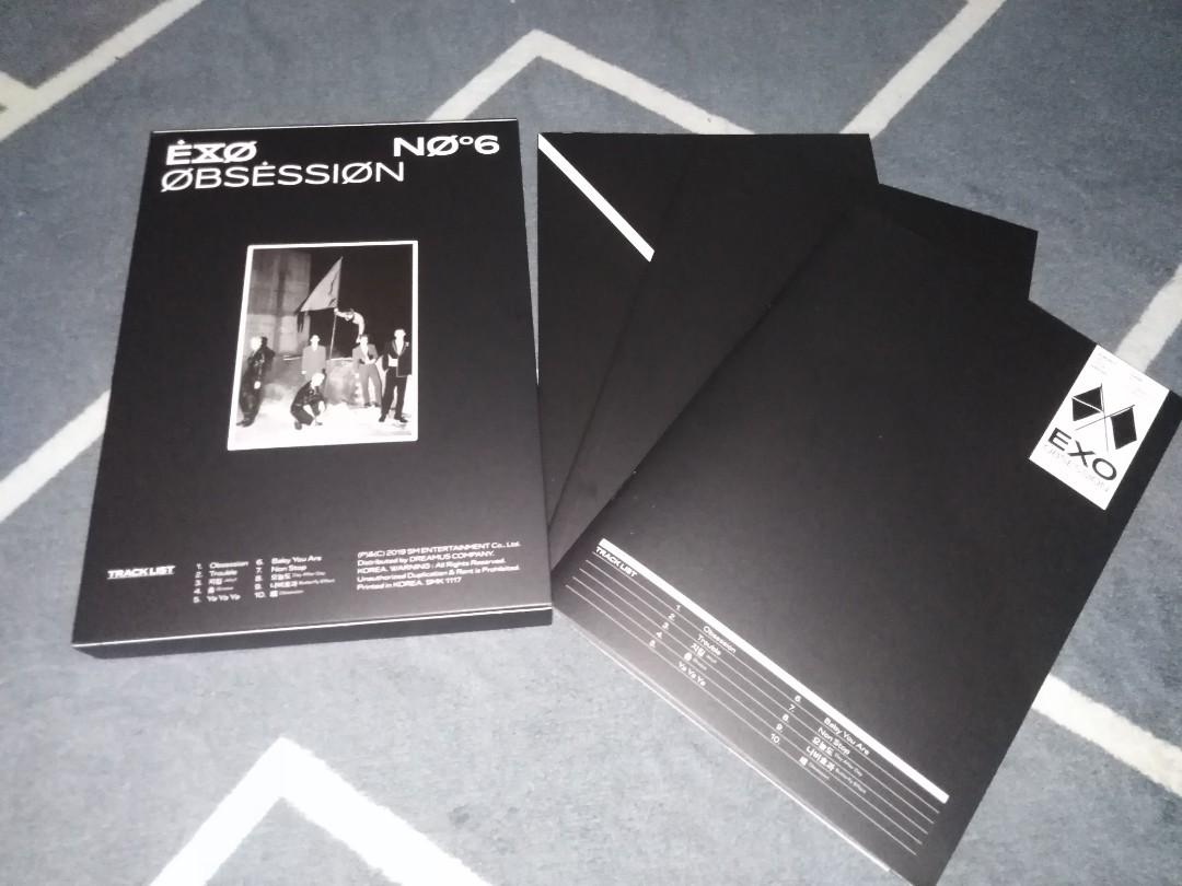 Unsealed Album: TXT EXO CIX KANG DANIEL STRAY KIDS