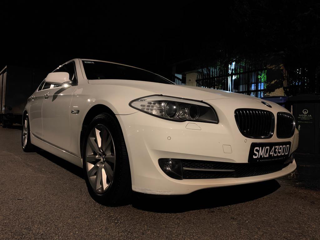 宝马婚车服务  Whatsapp 88567422/91803667. Wedding Car BMW523i / F10 Highline White $238