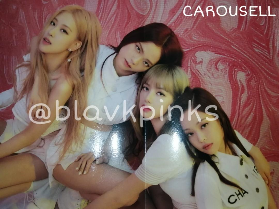 [WTS BLACKPINK] PHOTOBOOK LIMITED EDITION OFFICIAL FOLDED POSTER