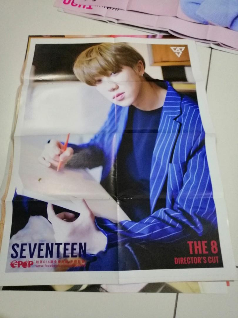 Wts seventeen,director's cut and you made me down poster