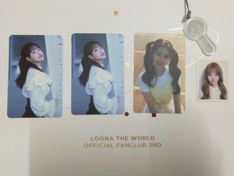 [WTS/WTT] LOONA XX CHUU, ++ CHOERRY PHOTOCARD, LOONAVERSE VIVI PHOTO ID