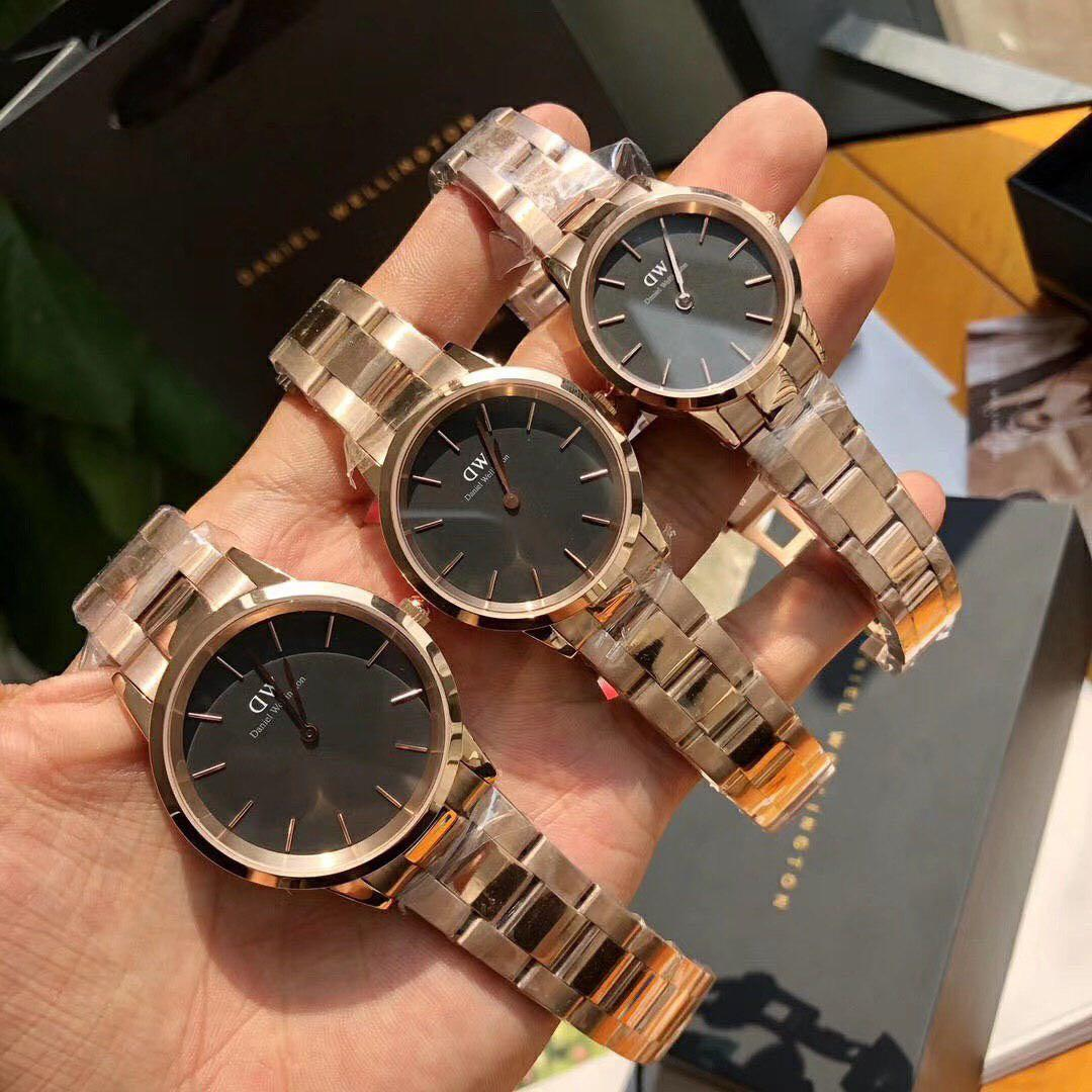 YEAR END SALE !! RM 5 OFF !! NEW ARRIVAL ORIGINAL DW ICONIC LINK ROSEGOLD BLACK & ROSEGOLD WHITE