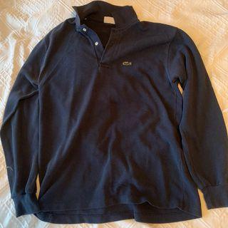 Navy Lacoste sweater