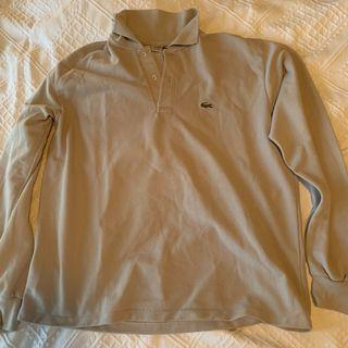 Grey Lacoste sweater