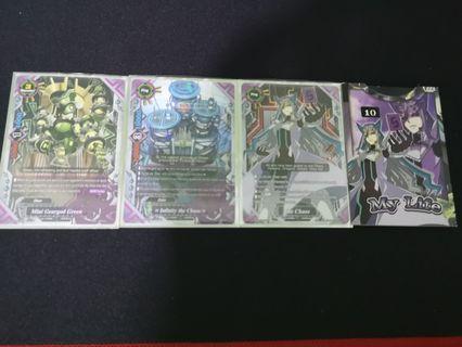 Buddyfight Mini Geargod deck