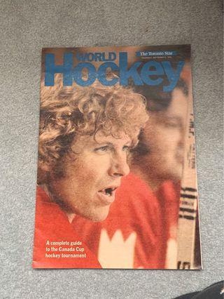 1976 Canada Cup Star Insert