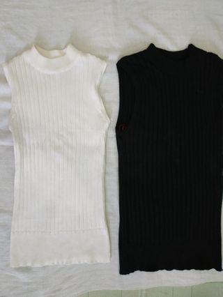 Sleeveless Sweater(per pc)