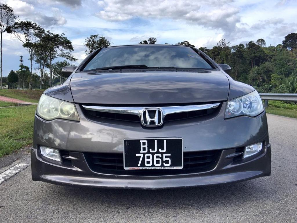 2006/07 Honda CIVIC 2.0 S i-VTEC ENHANCED (A) B/L LOAN KEDAI DP 3-5k