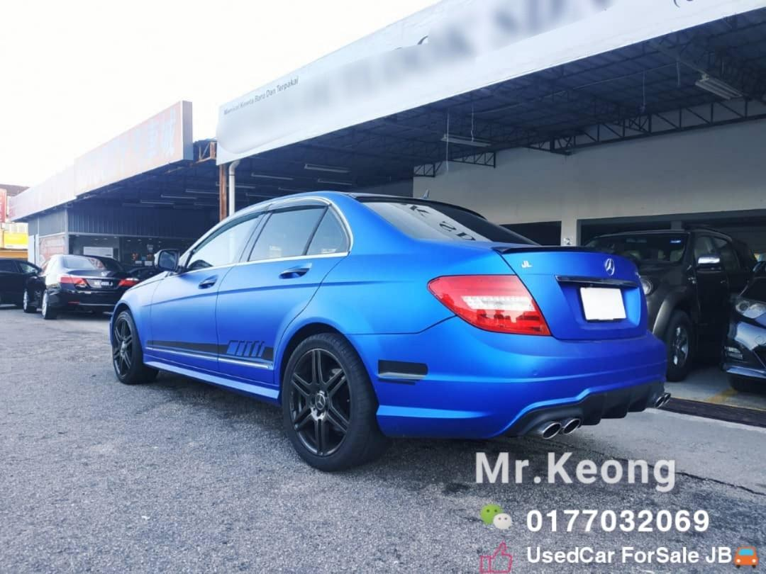 2008TH🚘MERCEDES C200K 1.8AT AMG CARKING W204 Cash🎉OfferPrice💲Rm43,800 Only⚠️️Lowest Price InJB 🎉Call📲 KeongForMore‼🤗Customer Trade In Good Condition Car🚘