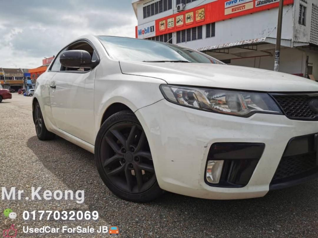 2012TH🚘KIA FORTE KOUP 2.0AT SX TWO DOOR Sunroof SportyCar In Town🚘Cash💲OfferPrice🎉Rm38,500‼ LowestPrice InJB 🎉Call📲KeongFor More‼🤗